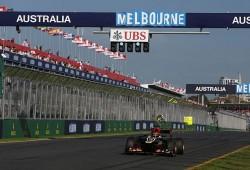 Romain Grosjean, el más rápido ante la inesperada lluvia en los FP3