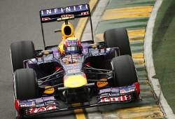Mark Webber sufrió problemas electrónicos en su RB9