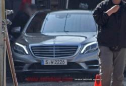 Mercedes Clase S, se filtran fotos de la carrocería al tiempo que se desvela el interior