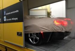 Chevrolet Corvette Stingray convertible, primera foto en directo