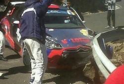 Robert Kubica se pasa de rápido y abandona por accidente