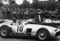 El Mercedes W196 1954 de Juan Manuel Fangio, a subasta