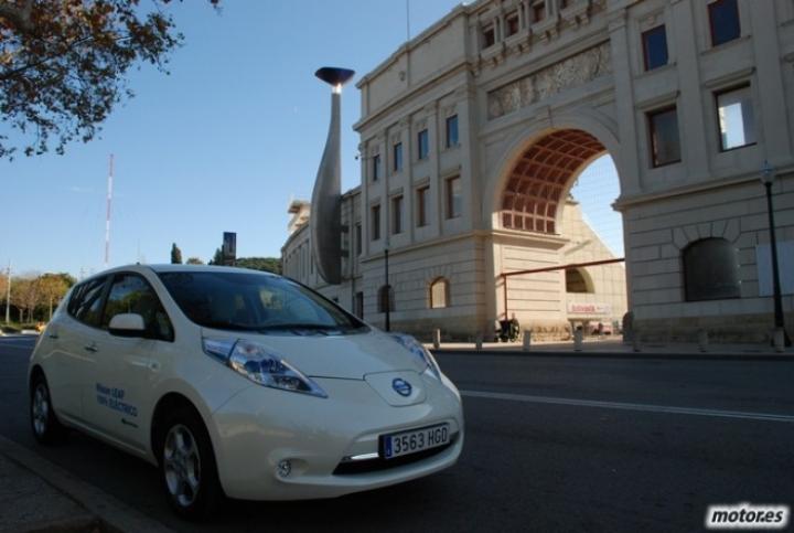 Primeras impresiones a los mandos del Nissan Leaf
