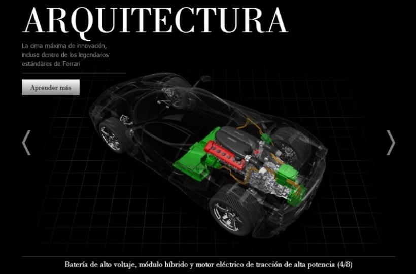 Website LaFerrari, conoce al detalle al nuevo cavallino de 963 CV