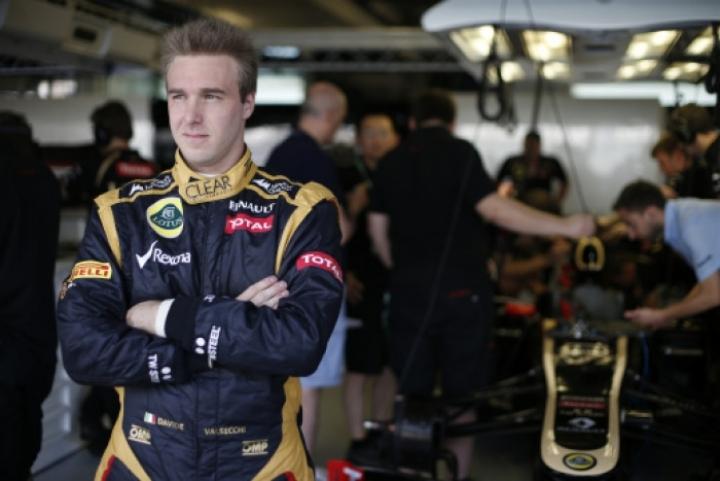 Kimi Raikkonen fue sustituido por Davide Valsecchi