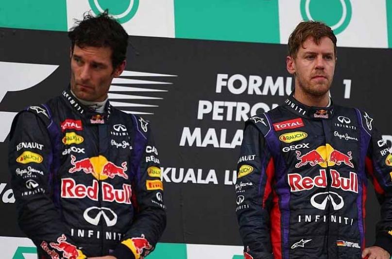 Vettel critica a Webber: no se lo merecía