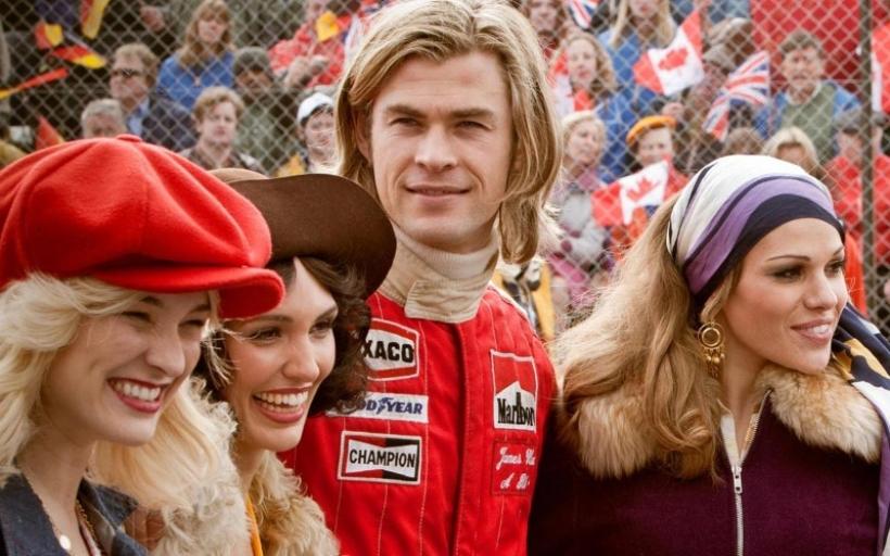 Primer trailer internacional de 'Rush', la película de Niki Lauda y James Hunt