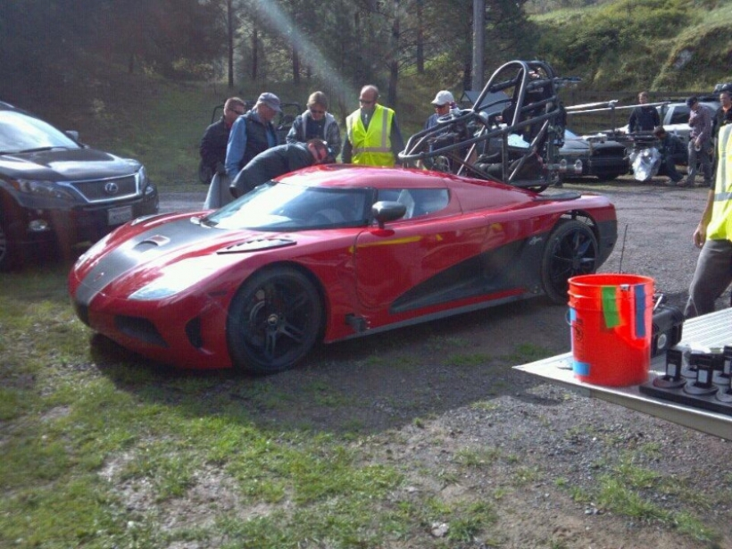Lamborghini Sesto Elemento presente en Need for Speed La Película