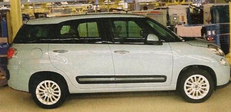 El Fiat 500XL se descubre en su primera imagen