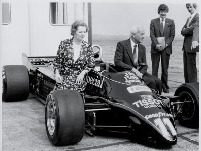 Margaret Thatcher y su apuesta perdedora por el coche de 'Regreso al Futuro'
