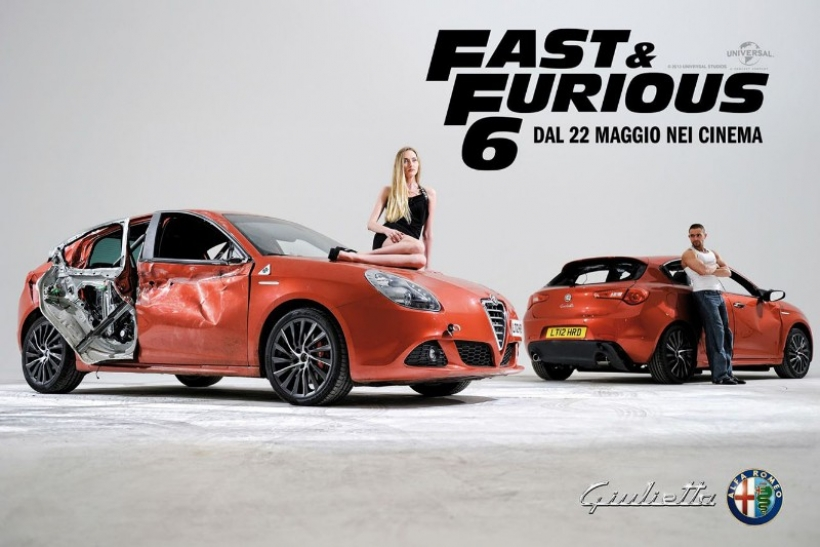 Alfa Romeo Giulietta, estrella de Fast & Furious 6