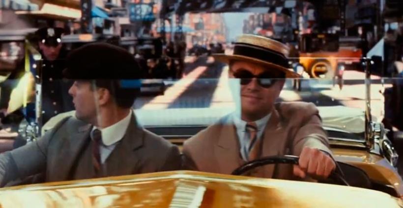 El coche de Di Caprio, el primer gazapo de la nueva película