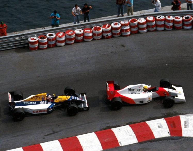 Historia del Gran Premio de Mónaco: de 1992 a 2012