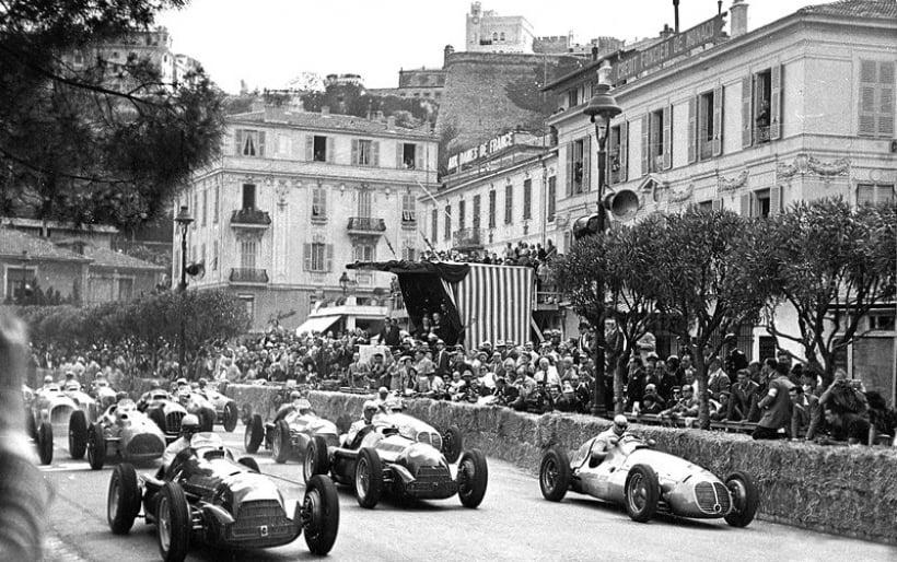 Historia del Gran Premio de Mónaco: de 1950 a 1967