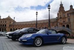Sevilla invadida por Porsche