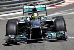 Rosberg lidera los terceros libres en una sesión caótica