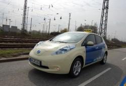 Nissan Leaf, ¿futuro éxito en el mundo del taxi?
