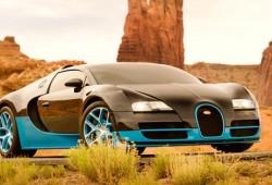 Nueva imagen para Optimus Prime y nuevos coches: Bugatti Veyron y un Chevrolet Corvette C7