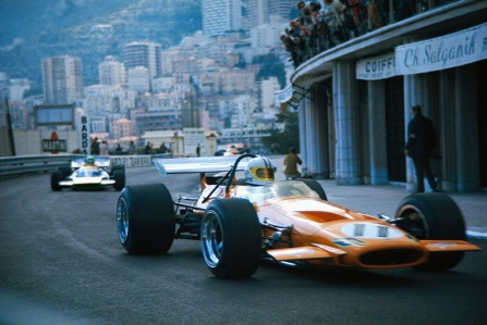 Historia del Gran Premio de Mónaco: de 1970 a 1988