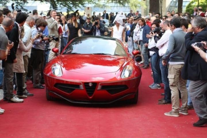 Alfa Romeo Disco Volante by Touring triunfó en Villa d´Este