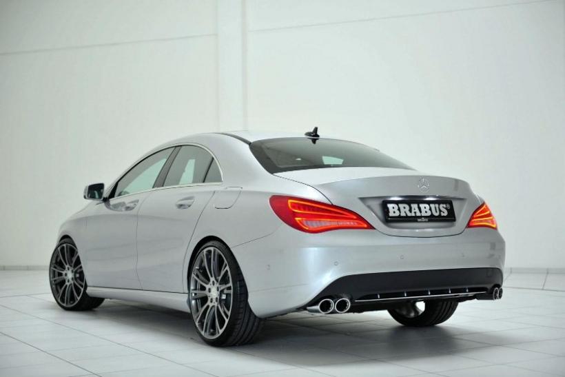 Brabus le mete mano al Mercedes CLA