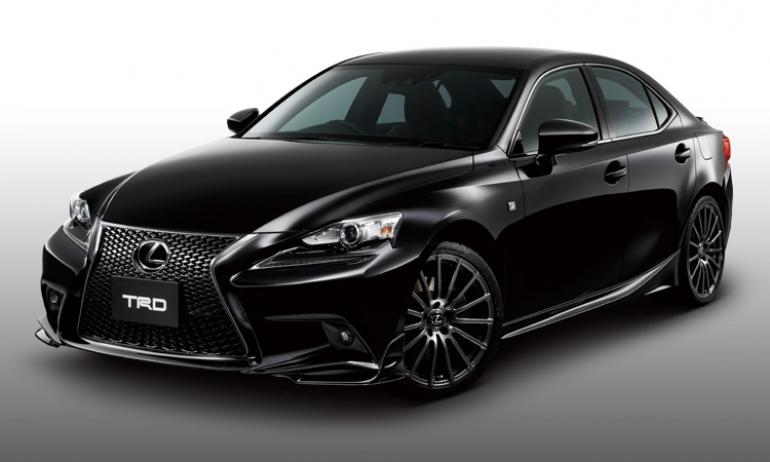 El Lexus IS 2013, más deportivo gracias a TRD