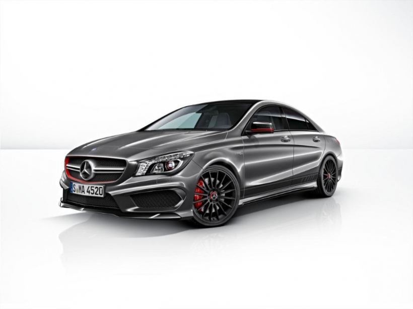 Mercedes CLA 45 AMG Edition 1, más exclusividad interior y exterior
