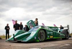Drayson consigue el récord de velocidad para un coche de carreras eléctrico