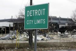 Detroit, la Ciudad del Motor, suspende pagos