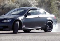 Spengler y Tomczyk se divierten quemando rueda con el BMW M3