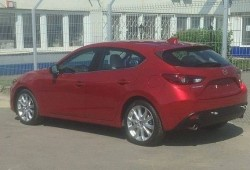 Mazda 3 2014, al natural y sin camuflaje
