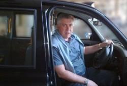 Carlo Ancelotti, nuevo entrenador del Real Madrid, y su consejero taxista