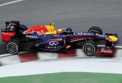 Webber: El coche va bien en todas las condiciones
