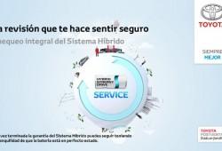 Nuevo servicio de revisiones para los Toyota híbridos