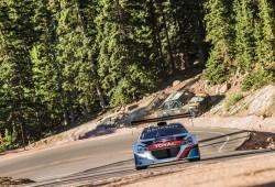 Clasificación Pikes Peak: Loeb arrasa en las dos primeras mangas