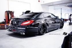 El siniestro Mercedes-Benz CLS 63 AMG de SR Auto Group