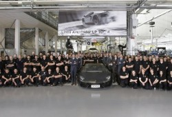 Lamborghini Aventador alcanza las 2.000 unidades producidas