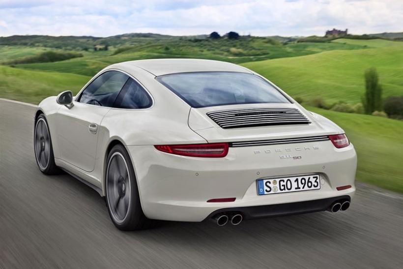 Porsche 911 50 Aniversario: edición limitada a 1.963 unidades