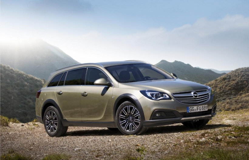 Así es el Opel Insignia Country Tourer 2014