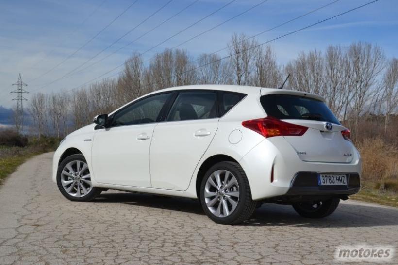 Prueba Toyota Auris Hybrid Advance