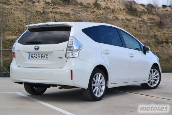 Prueba Toyota Prius+ 1.8 HSD Advance I, diseño exterior