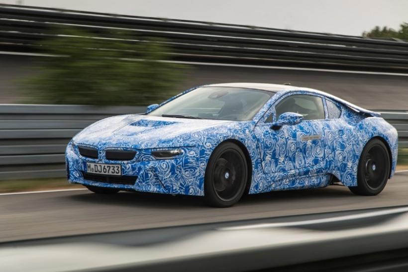 BMW i8, datos técnicos