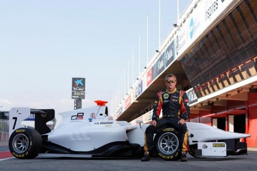 Raikkonen prueba un monoplaza de GP3