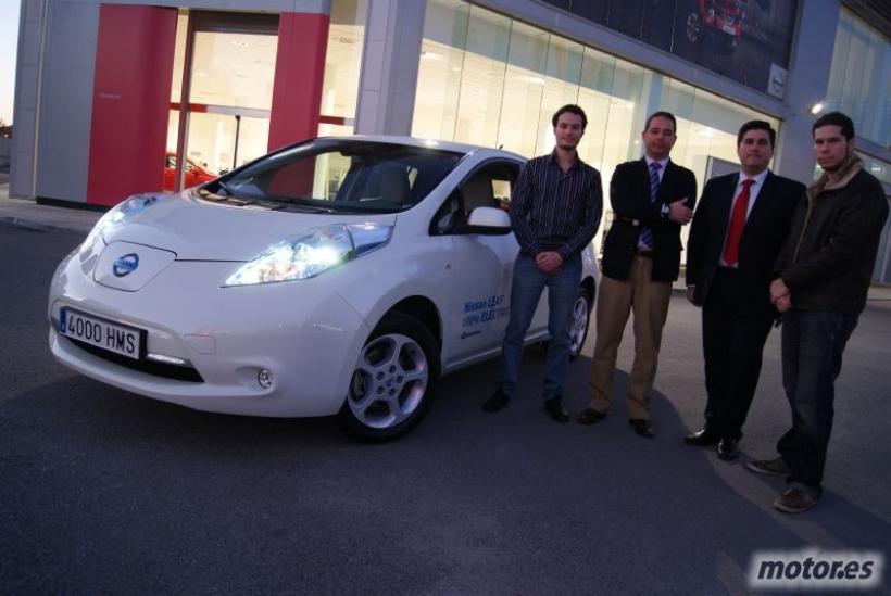 Cómo es la venta y entrega de un Nissan Leaf