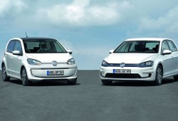 Volkswagen e-up! y e-Golf, los primeros Volkswagen eléctricos de producción