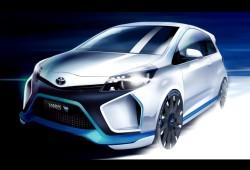 Yaris Hybrid-R, la sorpresa de Toyota en Frankfurt