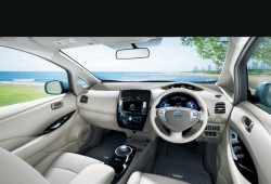 Nissan presenta nuevas tecnologías de seguridad sobre el Leaf