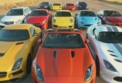 La mejor carrera de aceleración del mundo, según Motor Trend