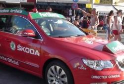 Skoda, coche oficial de la Vuelta a España por tercer año consecutivo