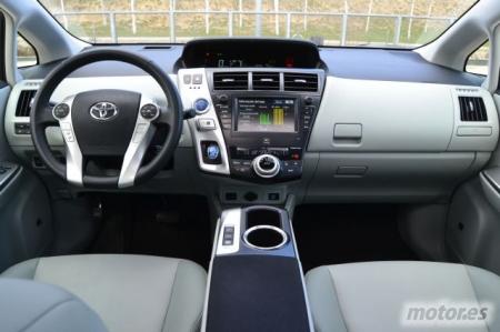 Prueba Toyota Prius+ 1.8 HSD Advance II, diseño interior